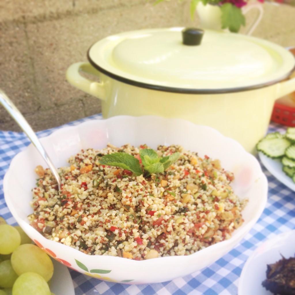 taboulé boulgour quinoa coriandre menthe arcopal