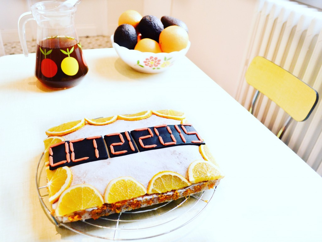 back to the future date OCT 21 2015 cake