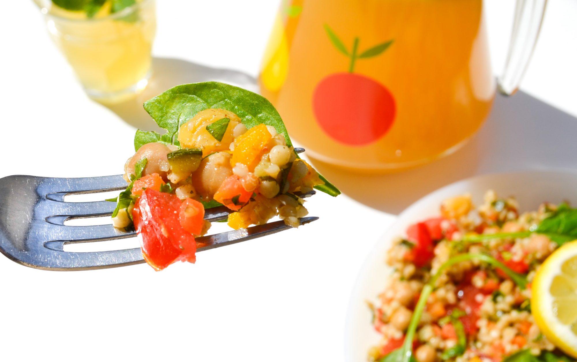 sunshine-tabbouleh-boulghour-petits-legumes-confits-fourchette taboule